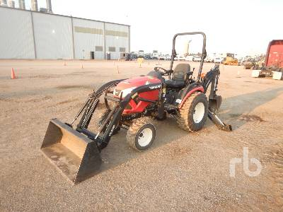 2018 YANMAR SA424 4WD Utility Tractor