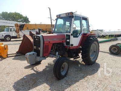 MASSEY FERGUSON 670 2WD Tractor