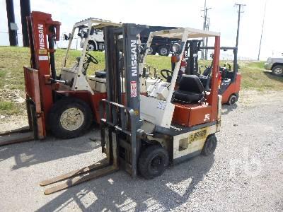 NISSAN NASH01 3000 Lb Forklift