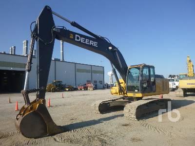 2011 JOHN DEERE 240D Hydraulic Excavator