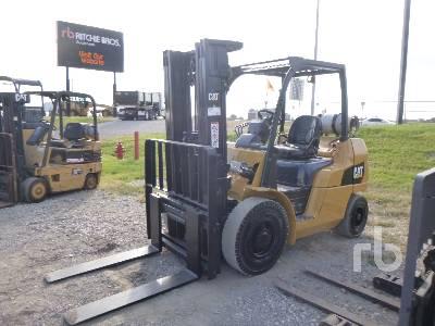 2011 CATERPILLAR P8000 7000 Lb Forklift