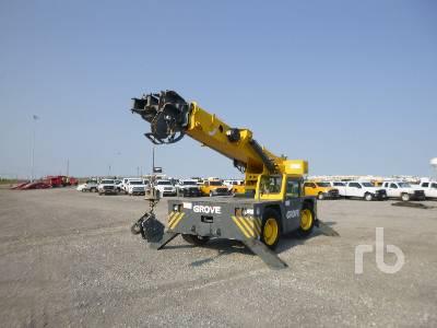 GROVE B4415XT 15 Ton 4x4x4 Carry Deck Crane