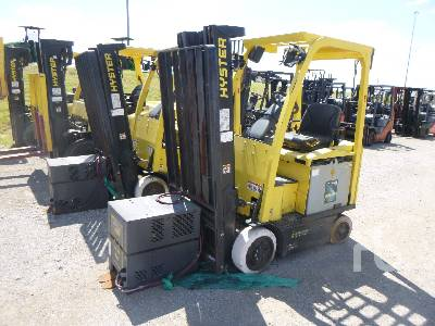 2014 HYSTER E30XN 3000 Lb Electric Forklift