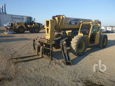 2008 CATERPILLAR TL1255 12000 Lb 4x4x4 Telescopic Forklift