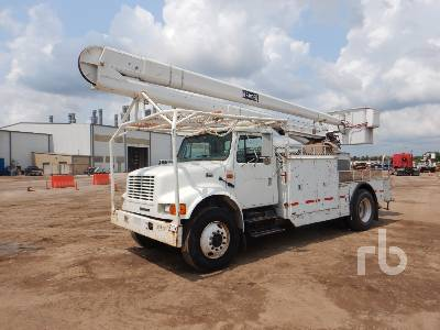 2002 INTERNATIONAL 4700 S/A w/Terex Hi-Ranger 5FA-48PBI Bucket Truck