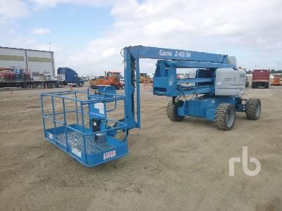 2014 GENIE Z60/34 4x4 Articulated Boom Lift