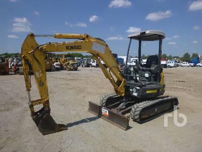 KOBELCO SK35SR-3 Mini Excavator (1 - 4.9 Tons)