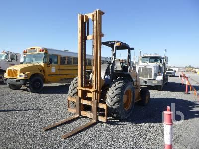 2005 CASE 586G Rough Terrain Forklift