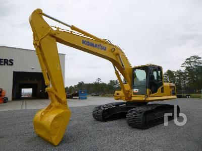 2007 KOMATSU PC200LC-8 Hydraulic Excavator