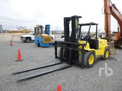 2004 HYSTER H155XL 13700 Lb Forklift