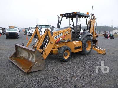 2016 CASE 580N 4x4 Loader Backhoe