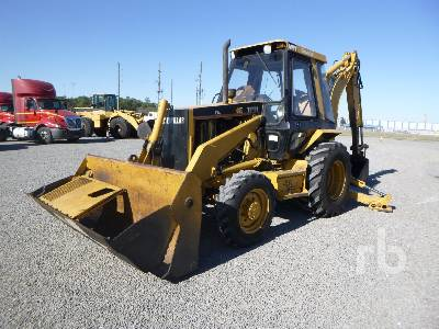 1995 CATERPILLAR 416B 4x4 Loader Backhoe