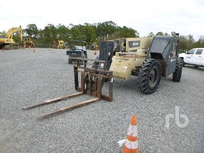 2005 INGERSOLL-RAND VR843C 8000 Lb 4x4x4 Telescopic Forklift
