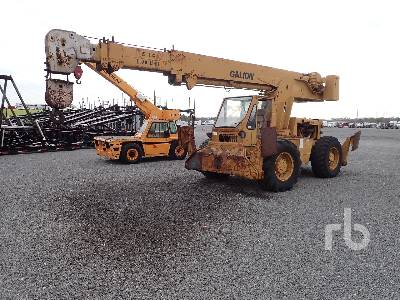 1979 GALION 150FA 15 Ton 4x4 Rough Terrain Crane