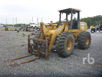 2002 JOHN DEERE 544H Wheel Loader