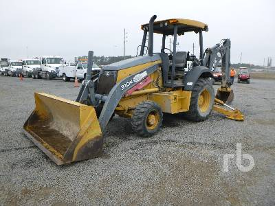 2012 JOHN DEERE 310K 4x4 Loader Backhoe