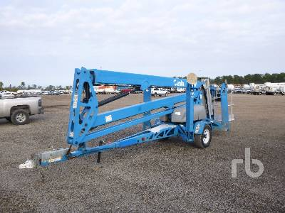 2011 GENIE TZ50 Electric Tow Behind Articulated Boom Lift