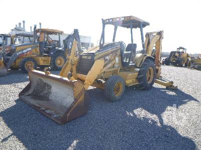 2000 CATERPILLAR 416C Loader Backhoe