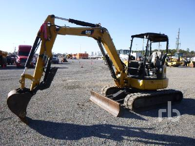 2016 CATERPILLAR 305E2CR Mini Excavator (1 - 4.9 Tons)