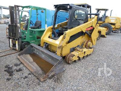 CATERPILLAR 259D 2 Spd Multi Terrain Loader