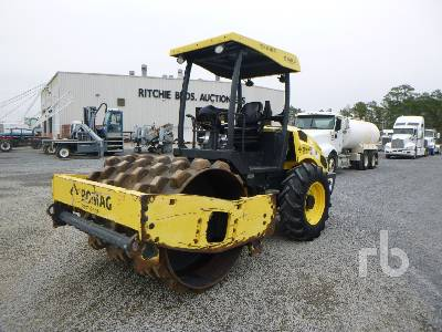 2016 BOMAG BW177PDH-5 Vibratory Padfoot Compactor