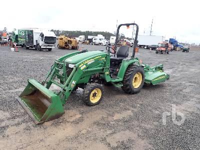 JOHN DEERE 3320 MFWD Utility Tractor