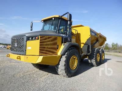 2018 JOHN DEERE 460E 6x6 Articulated Dump Truck