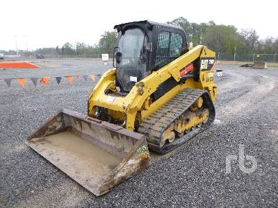 2015 CATERPILLAR 279D 2 Spd High Flow Compact Track Loader