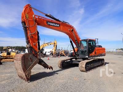 2018 DOOSAN DX300LC Hydraulic Excavator