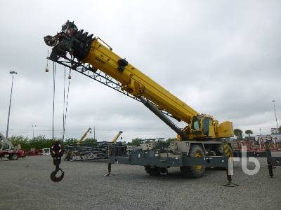 2012 GROVE RT9130E-2 130 Ton 4x4 Rough Terrain Crane