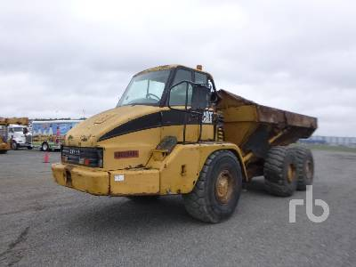 CATERPILLAR 725 6x6 Articulated Dump Truck