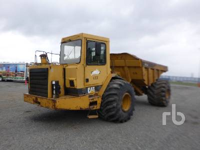 1999 CATERPILLAR D25D 4x4 Articulated Dump Truck