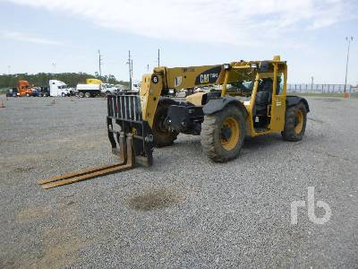 2011 CATERPILLAR TL642 6000 Lb 4x4x4 Telescopic Forklift