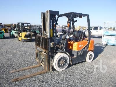 DOOSAN G30G-3 5000 Lb Forklift