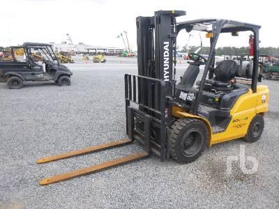 HYUNDAI 30L-9A 6000 Lb Forklift
