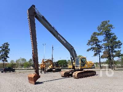 2005 VOLVO EC290BLR Long Reach Hydraulic Excavator