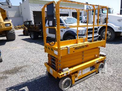 2016 HAULOTTE 1931 Electric Scissorlift