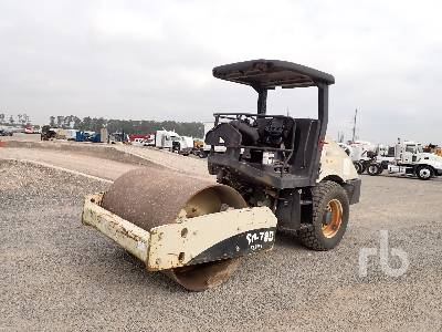 INGERSOLL-RAND SD70DTF Vibratory Roller