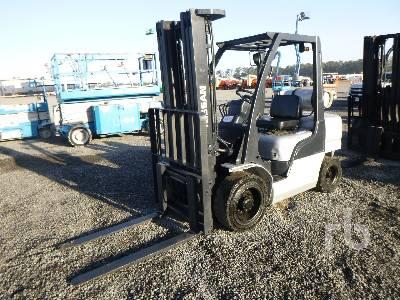 2005 NISSAN MUGL02A35LV 5000 Lb 5000 Lb Forklift Forklift
