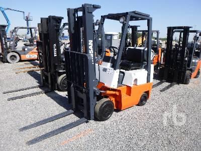1998 NISSAN CPJ01A15PV Forklift