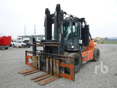 2017 TOYOTA THD2200-24 22000 Lb Forklift
