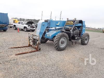 2014 GENIE GTH844 8000 Lb 4x4x4 Telescopic Forklift