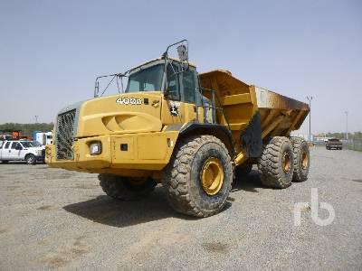 2008 JOHN DEERE 400D 6x6 Articulated Dump Truck
