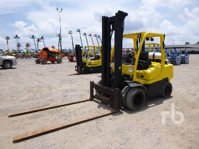 2014 HYSTER 8000 Lb Forklift