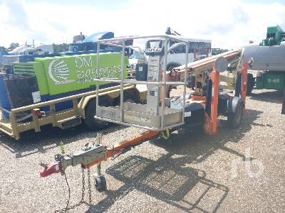 2014 JLG T350 Tow Behind Articulated Boom Lift