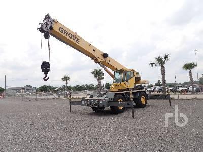 2001 GROVE RT530E 30 Ton 4x4 Rough Terrain Crane