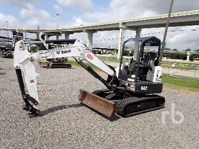 2018 BOBCAT E42U Mini Excavator (1 - 4.9 Tons)