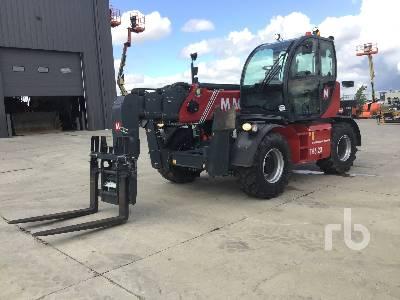 2017 MAGNI TH6.20 13200 Lb 4x4x4 Telescopic Forklift