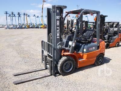 2016 HELI CPCD25KU7 4000 Lb Forklift