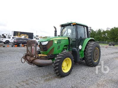 2013 JOHN DEERE 6105M MFWD Tractor